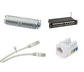 Компоненты структурированных кабельных систем СКС