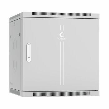 """Cabeus SH-05F-12U60/60m-R Шкаф телекоммуникационный настенный разобранный 19"""" 12U 600x600x635mm (ШхГхВ) дверь металл"""