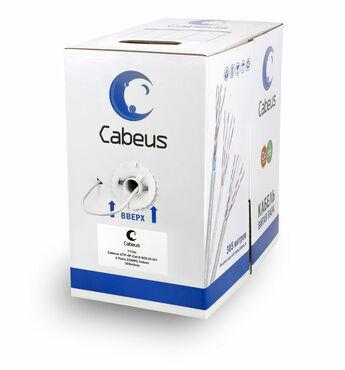 Витая пара кат.6 Cabeus UTP-4P-Cat.6-SOLID-GY 4 пары