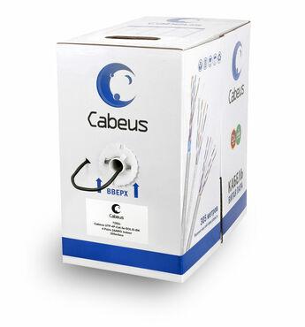 Витая пара кат.5e Cabeus UTP-4P-Cat-5e-SOLID-BK 4 пары