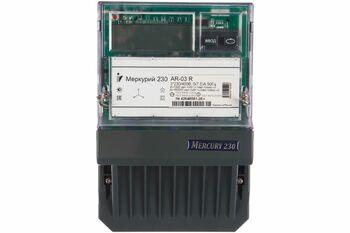 "Счетчик ""Меркурий"" 230 AR-03 R 3ф 5-7.5А 0.5s/1.0 класс точн. 1 тариф. оптопорт RS485 ЖКИ Инкотекс 32439"
