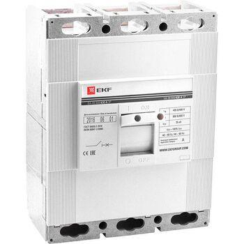 Выключатель автоматический 3п 800/800А 35кА ВА-99 PROxima EKF mccb99-800-800