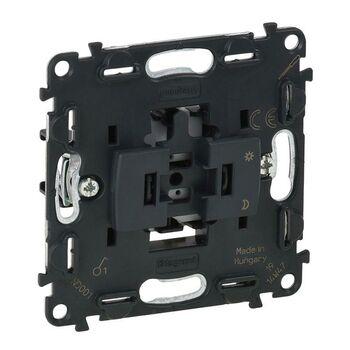 Механизм выключателя 1-кл. СП Valena In'matic 10А IP20 250В 10AX безвинт. зажимы сер. Leg 752001