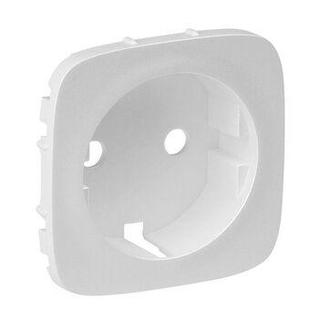 Панель лицевая Valena Allure для розетки 2К+З жемчуж. Leg 755209