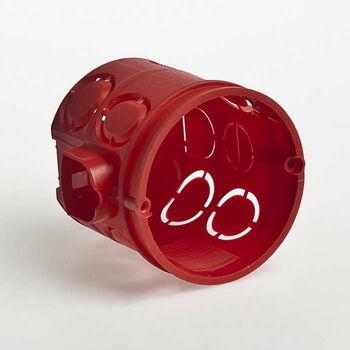Коробка установочная СП 60х62 блочная углубл. IP30 красн. Ruvinil 10190