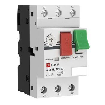Выключатель автоматический для защиты двигателя АПД-32 9-14А EKF apd2-9-14