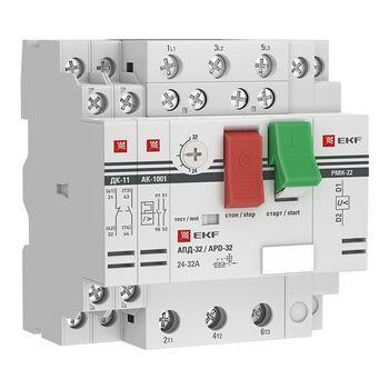 Выключатель автоматический для защиты двигателя АПД-32 2.5-4А EKF apd2-2.5-4.0
