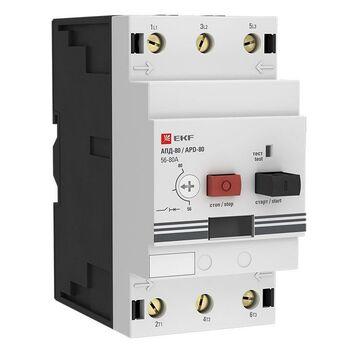 Выключатель автоматический для защиты двигателя АПД-80 40-63А EKF apd3-40-63