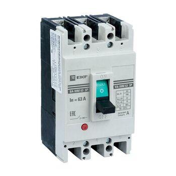 Выключатель автоматический 3п 63/50А 25кА ВА-99М PROxima EKF mccb99-63-50m