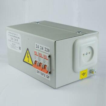 Ящик с понижающим трансформатором ЯТП 0.25 220/36В (3 авт. выкл.) Кострома ОС0000002367