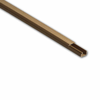 Кабель-канал 15х10 L2000 пластик бук (светл. основа) Ruvinil РКК-15х10-38М