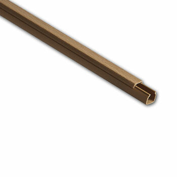 Кабель-канал 16х16 L2000 пластик бук (светл. основа) Ruvinil РКК-16х16-38М