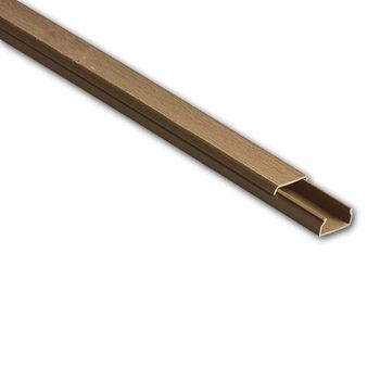 Кабель-канал 20х10 L2000 пластик бук (светл. основа) Ruvinil РКК-20х10-38М