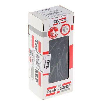 Саморез 4.2х75 гипсокартон-дерево (уп.100шт) коробка Tech-Krep 102127