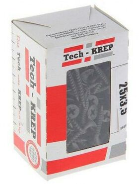 Саморез 3.5х25 гипсокартон-металл (уп.200шт) коробка Tech-Krep 102129