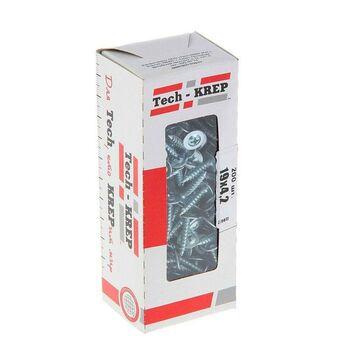 Саморез для тонкого метал. листа 4.2х19 (уп.200шт) коробка Tech-Krep 102140