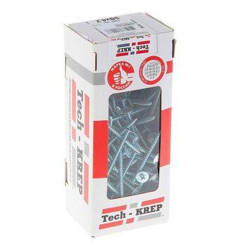 Саморез для тонкого метал. листа со сверлом 4.2х38 (уп.200шт) коробка Tech-Krep 102153