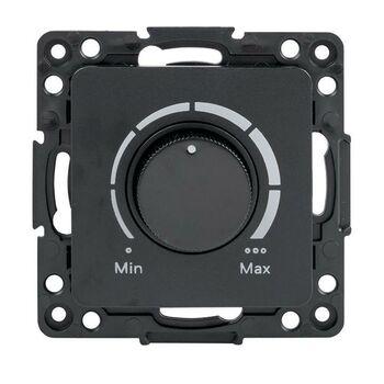 Механизм светорегулятора Стокгольм 600Вт 220В черн. PROxima EKF EZD06-101-10