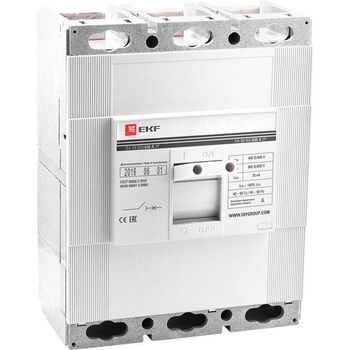 Выключатель автоматический 3п 800/500А 35кА ВА-99 PROxima EKF mccb99-800-500