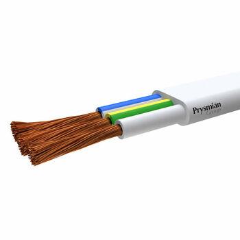Провод ПГВВП 3х2.5 Б (бухта) (м) РЭК-PRYSMIAN 1003050201
