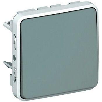 Механизм выключателя кноп. СП Plexo 10А 1НО IP55 сер. Leg 069540
