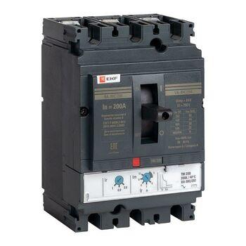 Выключатель автоматический 3п 250/200А 45кА ВА-99C Compact NS PROxima EKF mccb99C-250-200