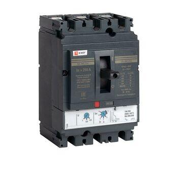 Выключатель автоматический 3п 250/250А 45кА ВА-99C Compact NS PROxima EKF mccb99C-250-250