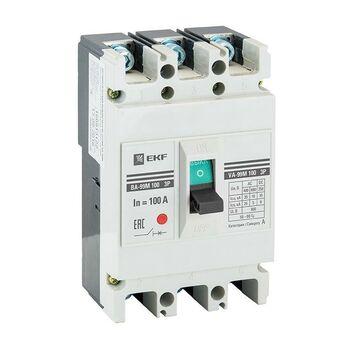 Выключатель автоматический 3п 100/80А 35кА ВА-99М PROxima EKF mccb99-100-80m