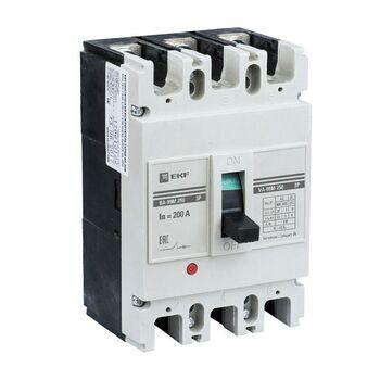 Выключатель автоматический 3п 250/125А 35кА ВА-99М PROxima EKF mccb99-250-125m