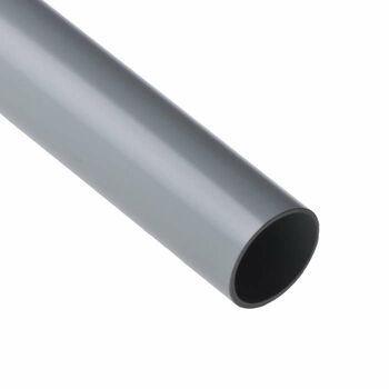 Труба ПВХ гладкая жесткая d40мм (л) 350Н/5 СМ2 (дл.3м) Ruvinil 54000(3)