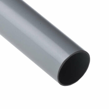 Труба ПВХ гладкая жесткая d50мм (л) 350Н/5 СМ2 (дл.3м) Ruvinil 55000(3)