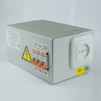 Ящик с понижающим трансформатором ЯТП 0.25 220/24В (3 авт. выкл.) Кострома ОС0000002235
