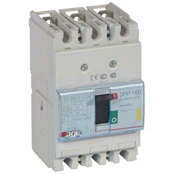 Выключатель автоматический 3п 160А 16кА DPX3 160 термомагнитн. расцеп. Leg 420007