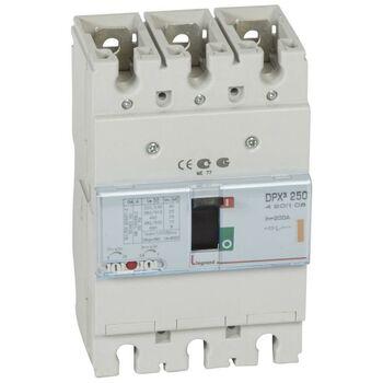 Выключатель автоматический 3п 200А 25кА DPX3 250 400В термомагнитн. расцеп. Leg 420208