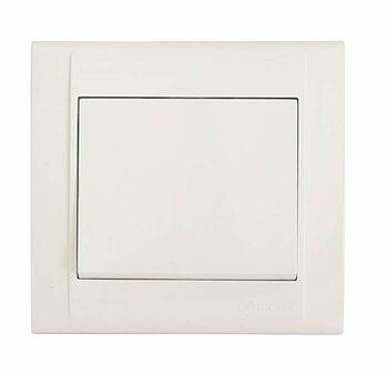 Выключатель 1-кл. СП Defne 10А IP20 без подсветки бел. Makel 42001001