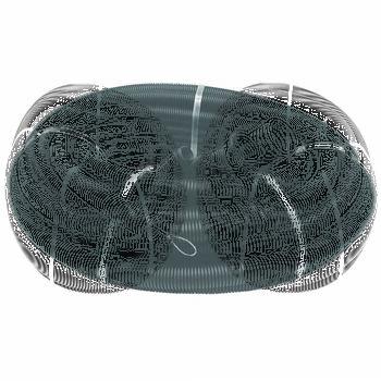 Труба гофрированная ПНД d16мм с протяжкой черн. (уп.100м) Ruvinil 21601