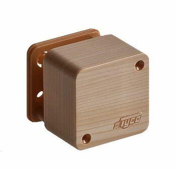 Коробка распределительная ОП 55х55х32мм IP40 сосна (светл. основа) Ruvinil 65002-27М