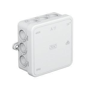 Коробка распределительная без клемм. колодки A11 свет. сер. OBO 2000342