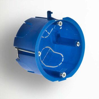Коробка установочная СП 65х40 для гипсокарт. с метал. лапками IP30 Ruvinil 10172