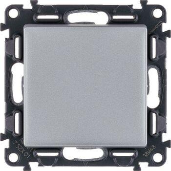 Механизм выключателя 1-кл. СП Valena Life 10А IP20 250В 10AX с лиц. панелью безвинт. зажимы алюм. Leg 752601