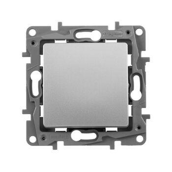Механизм выключателя 1-кл. СП Etika 10А IP20 250В 10AX авт. зажимы алюм. Leg 672401