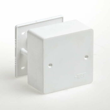 Коробка универсальная для кабель-каналов 85х85х42 IP40 Ruvinil 65015