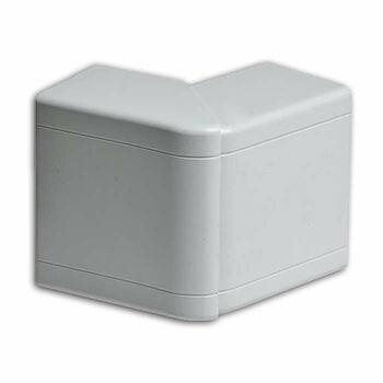 Угол внешний 100х60/40 разводной бел. Ruvinil УВШ-100х60