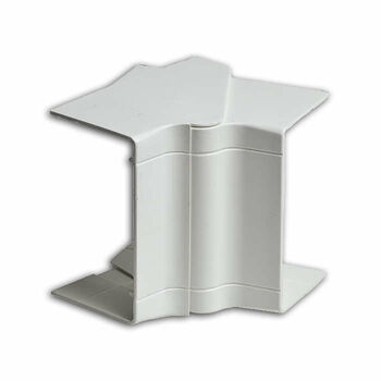 Угол внутренний 100х60/40 разводной бел. Ruvinil УВН-100х60