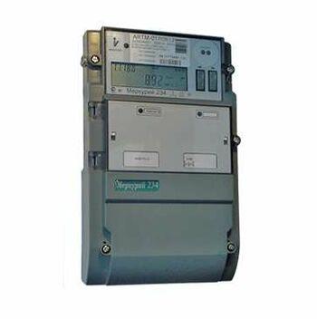 "Счетчик ""Меркурий"" 234 ARTM-02 PBR.G 3ф 5-100А 1.0/2.0 класс точн.; многотариф. оптопорт RS485 GSM ЖКИ винт. Моск. вр. Инкотекс М0000052001"
