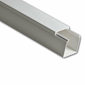 Кабель-канал 40х40 L2000 пластик бел. Ruvinil РКК-40х40