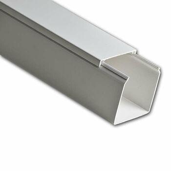 Кабель-канал 80х60 L2000 пластик бел. Ruvinil РКК-80х60