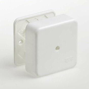 Коробка универсальная для кабель-каналов 80х80х25 IP40 Ruvinil 65005