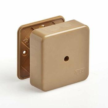 Коробка универсальная для кабель-каналов 80х80х25 кор. IP40 Ruvinil 65005К