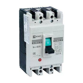 Выключатель автоматический 3п 63/63А 25кА ВА-99М PROxima EKF mccb99-63-63m
